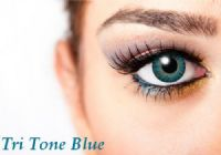 Tri Tone Blue Contacts - 90 Day